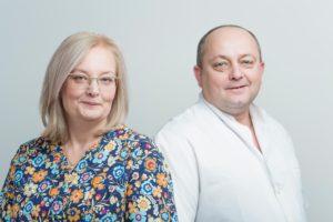 dr n. med. Halina Przeniczna, lek. med. Mariusz Władyga